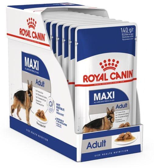 Royal Canin hrana za odrasle pse Maxi Adult, 10x140g