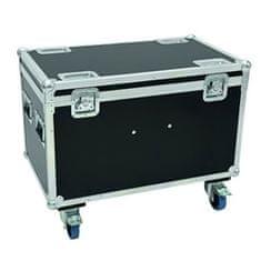 Roadinger Transportní kufr , Transportní case pro 4x PLB-130, s kolečky