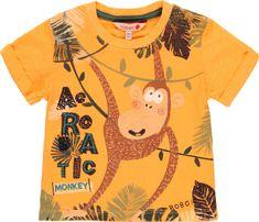 Boboli chlapecké tričko 68 oranžová