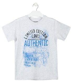 Losan chlapecké tričko 128 ledově šedá