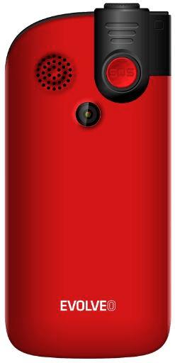 Evolveo EasyPhone FM, červený - zánovní