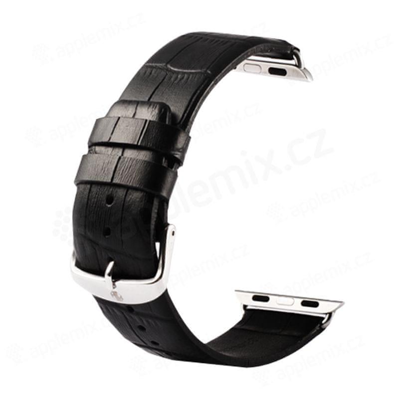 ACM Kožený řemínek pro Apple Watch 42/44MM Black