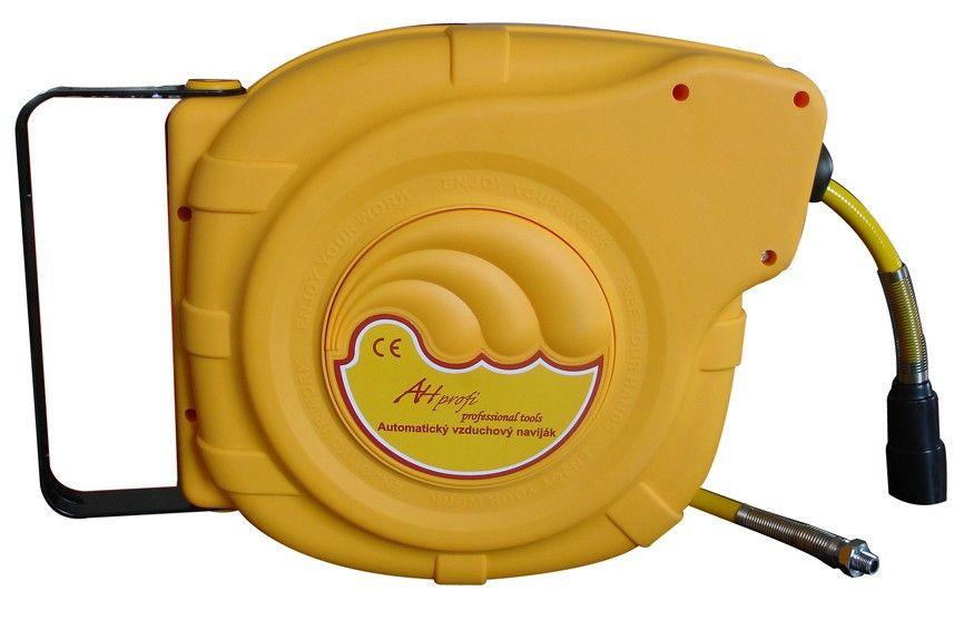 AHProfi Samonavíjecí buben s hadicí pro stlačený vzduch   AHProfi