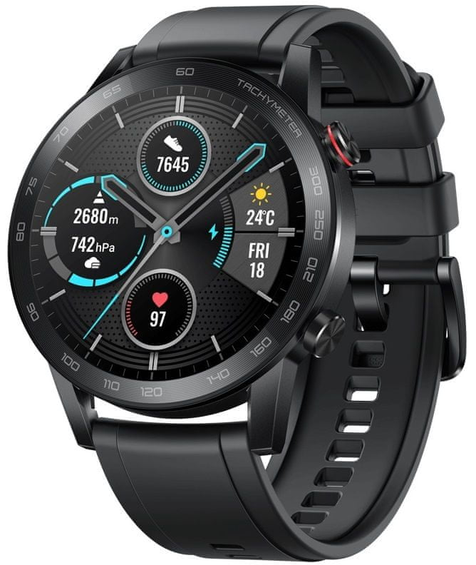 Honor MagicWatch 2, 46 mm (Minos-B19S), Black Male