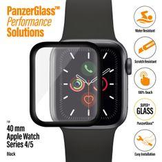 PanzerGlass zaščitno steklo SmartWatch za Apple Watch 4/5/6/SE 40, črno (2016)