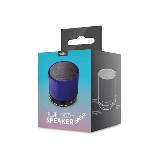 setty. Bezprzewodowy głośnik Bluetooth Junior, niebieski