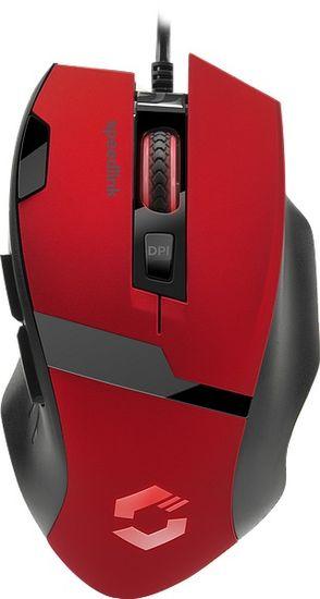 SPEED-LINK Vades, čierna/červená (SL-680014-BKRD)