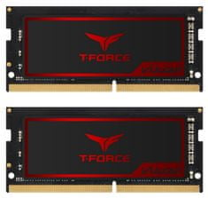 TeamGroup Vulcan 16GB Kit (2x8GB) DDR4-2666, SODIMM, CL18 pomnilnik (TLRD416G2666HC18FDC-S01)