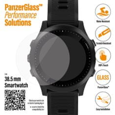 PanzerGlass SmartWatch pro různé typy hodinek, 38,5 mm čiré (3616)