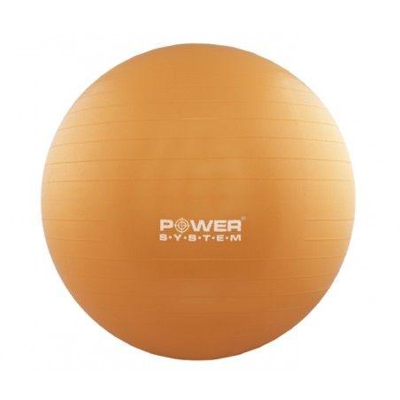 POWER SYSTEM Gymnastický míč 75 cm oranžový
