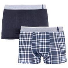 Molvy 2PACK pánske boxerky viacfarebné (KP-067-BEU) - veľkosť L