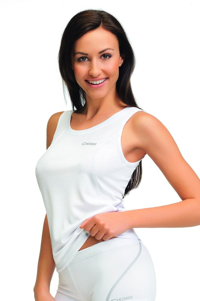 Gwinner Sportovní tílko Classic X white, bílá, XL