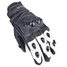 W-TEC Moto rukavice Radoon - barva černo-bílá, velikost XXL
