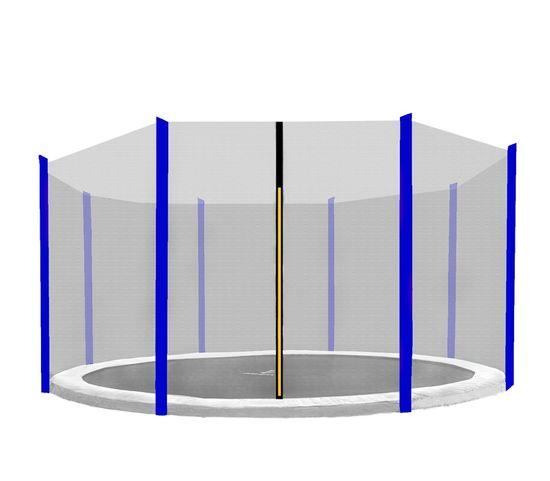 Aga varnostna mreža 305 cm za 8 palic Black net/ Blue