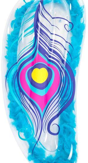 Bestway 43241 Nafukovací lehátko s peříčky 189 x 79 cm