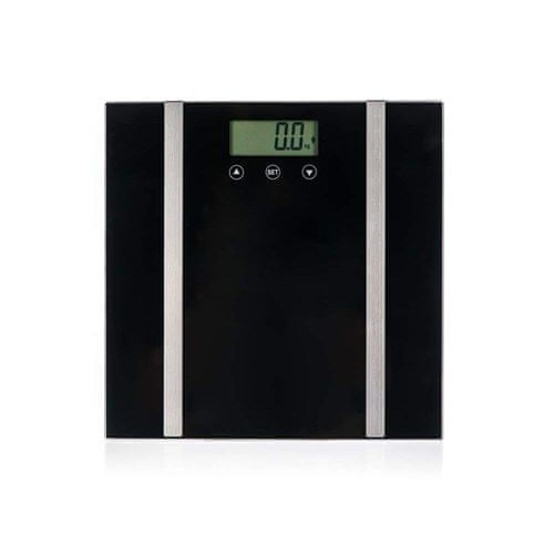 Pretty up waga osobista diagnostyczna, cyfrowa PU-003D, 150 kg, czarna