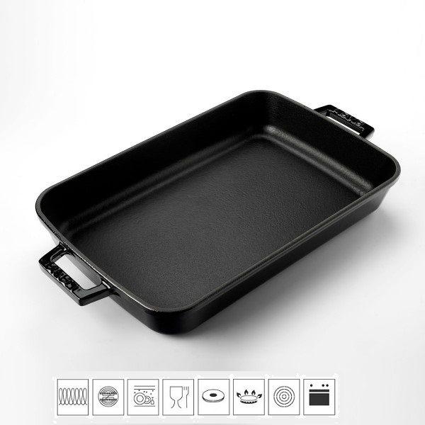 Lava Litinový pekáč 22x30cm - černý LVPTP2230K0BL