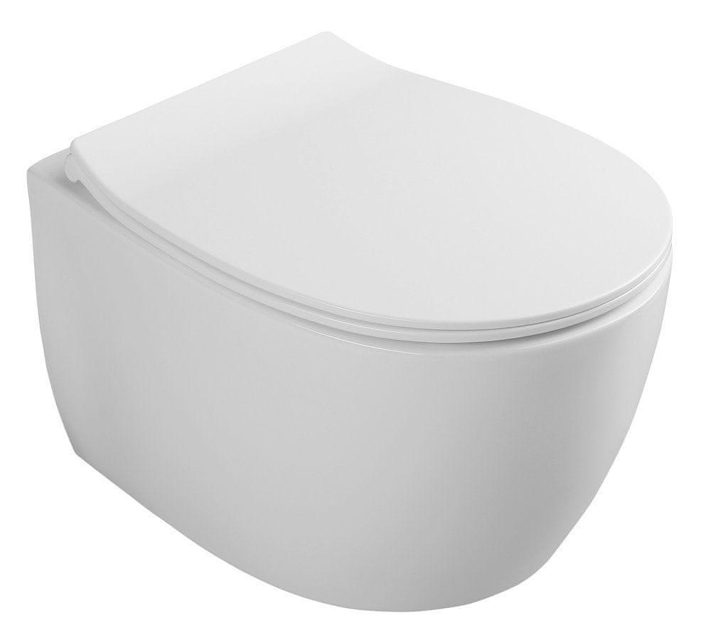 ISVEA SENTIMENTI WC závěsné 36x50cm ,Smartfixplus (10AR02008)