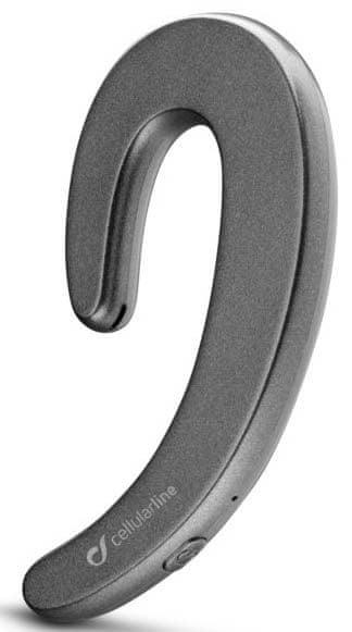 CellularLine Bluetooth headset Hear s ergonomickým designem, černý, BTHEARK