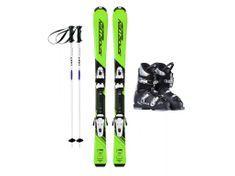 Sporten půjčení lyžařského setu na celou zimu (lyžáky: 18,5 cm, lyže: 110 cm, hůlky: s holemi)