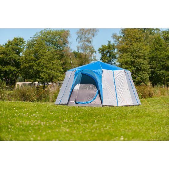Coleman Cortes Octagon 8 šotor, moder - Odprta embalaža