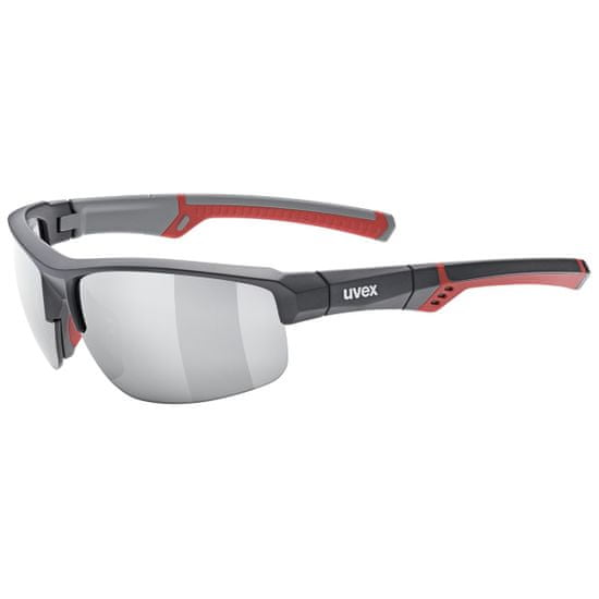 Uvex Sportstyle 226, Grey Red/Mirror Silver (5316)