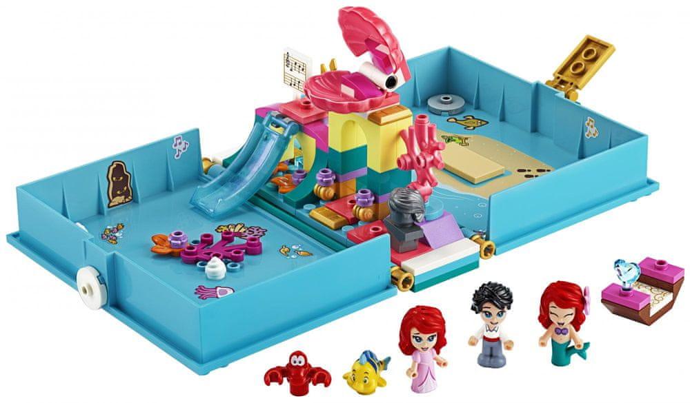 LEGO Disney 43176 Ariel a její pohádková kniha dobrodružství