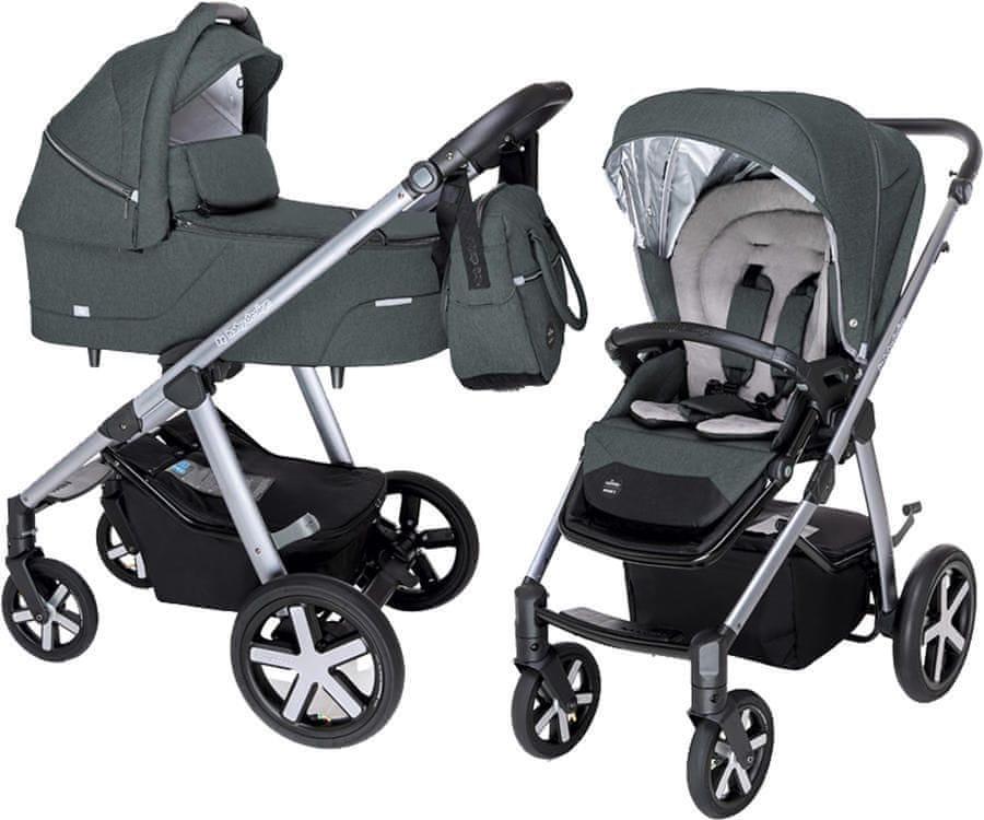 Baby Design kombinovaný kočárek Husky 17 - zánovní
