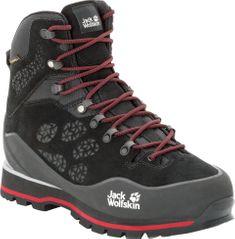 Jack Wolfskin pánska obuv Wilderness Peak Texapore Mid M (4035261-6047) 44,5 čierna - zánovné