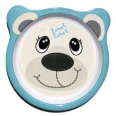 Label-Label Friends Talíř - Lední medvěd