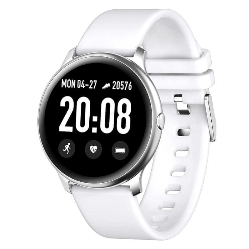 Printwell chytré hodinky F-001 PRO, bílé