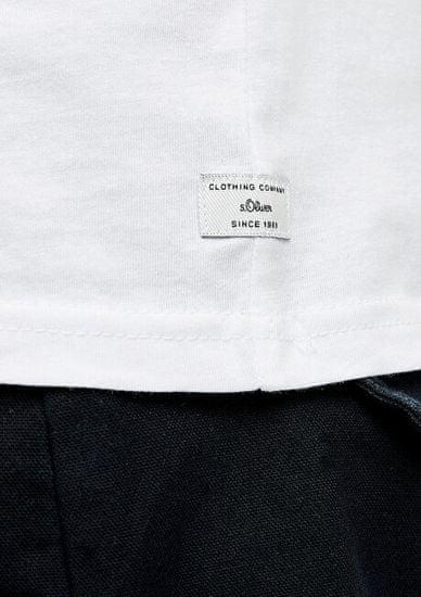 s.Oliver Moška majica 03.899.32.5049 . 0100 White