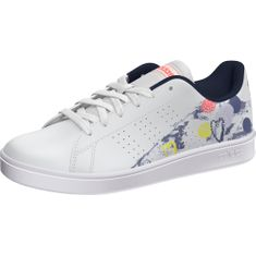 Adidas dívčí tenisky ADVANTAGE K 39,3 bílá