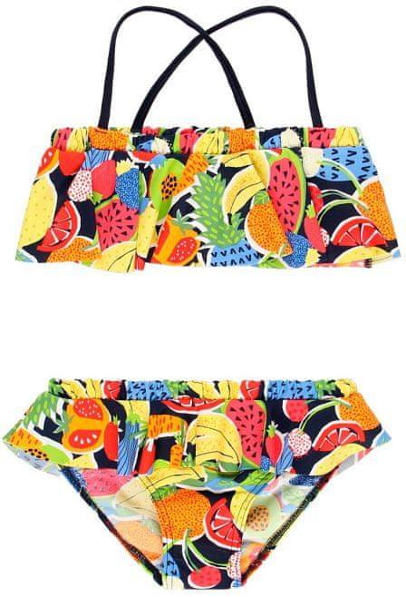 Boboli dívčí dvoudílné plavky 122 vícebarevná