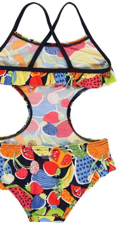 Boboli dívčí jednodílné plavky 110 vícebarevná