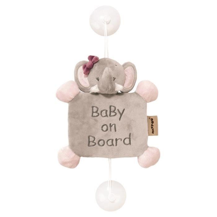 """Nattou slon do auta """"Baby on board"""""""
