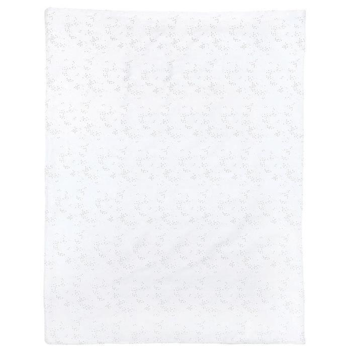 Nattou dětská deka 75x100 cm, šedá