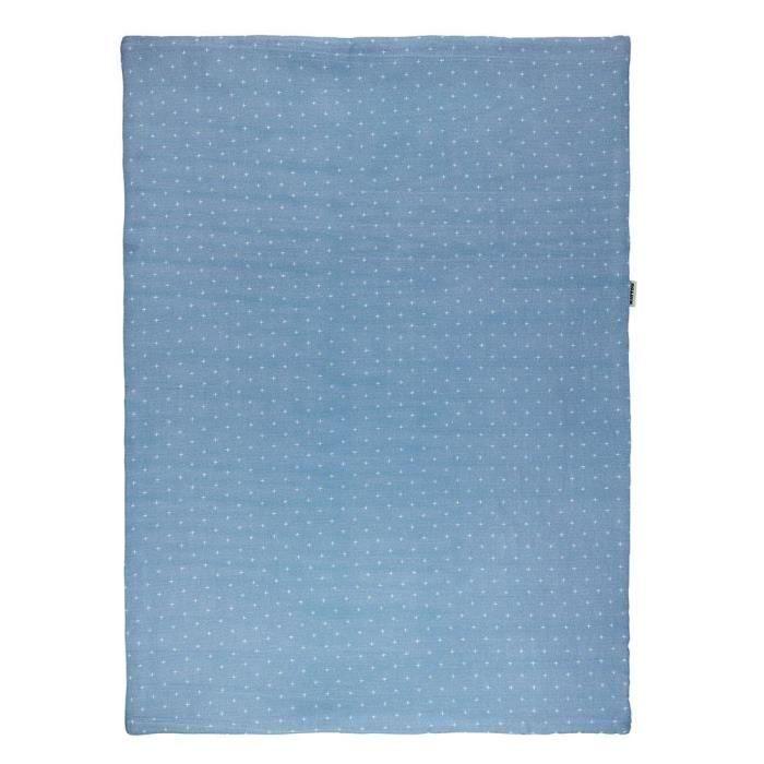 Nattou dětská deka 75x100 cm, modrá