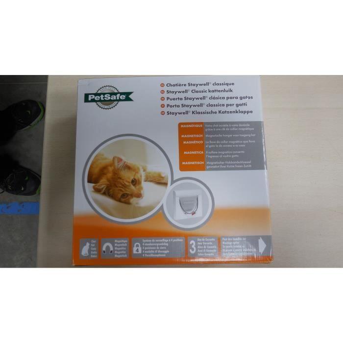 PetSafe magnetická dvířka pro kočky Staywell®, bílá