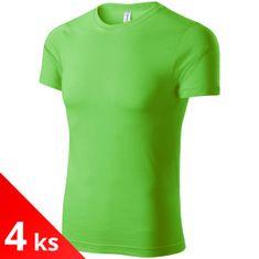 Piccolio 4x Apple green Dětské lehké tričko