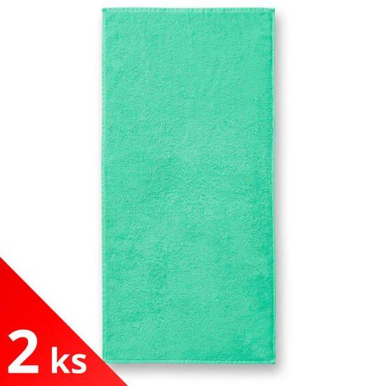 Malfini 2x Bavlnená osuška, 70x140cm