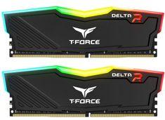 TeamGroup Delta RGB 16GB Kit (2x8GB) DDR4-3200, DIMM, CL16 pomnilnik (TF3D416G3200HC16CDC01)
