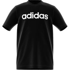 Adidas fiú póló YB E LIN TEE, 116, fekete