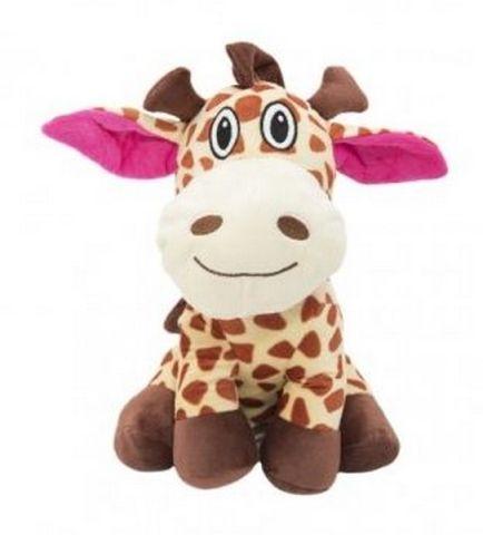Teddies Žirafa sedící plyš 26cm v sáčku 0+
