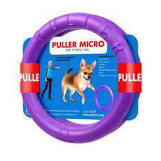 Puller obroč za psa Micro 12,5x1,5 cm, 2 kosa