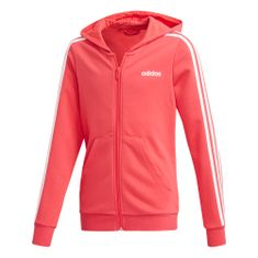 Adidas Bluza dziewczęca YG E 3S FZ HD 116 różowa