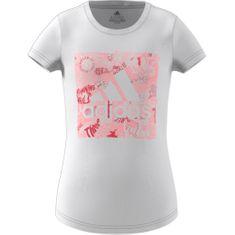 Adidas Koszulka dziewczęca JG MH BOS BOX 104 biała