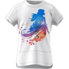 Adidas Koszulka dziewczęca LG DY FRO Tee 98 biała
