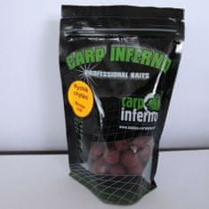 Carp Inferno Boilie rychlé chytání 17 mm 250 g Oliheň (zelená)