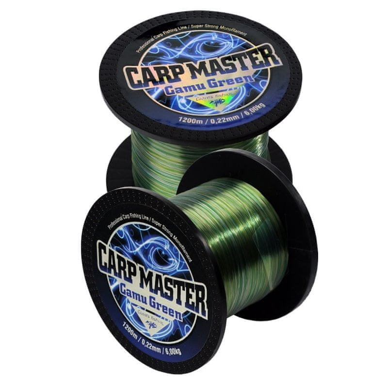 Giants Fishing Vlasec Carp Master Camou Green 0,35mm/1200m